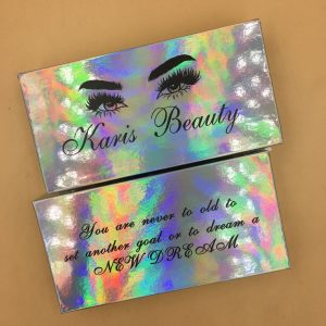 customize your own eyelash box