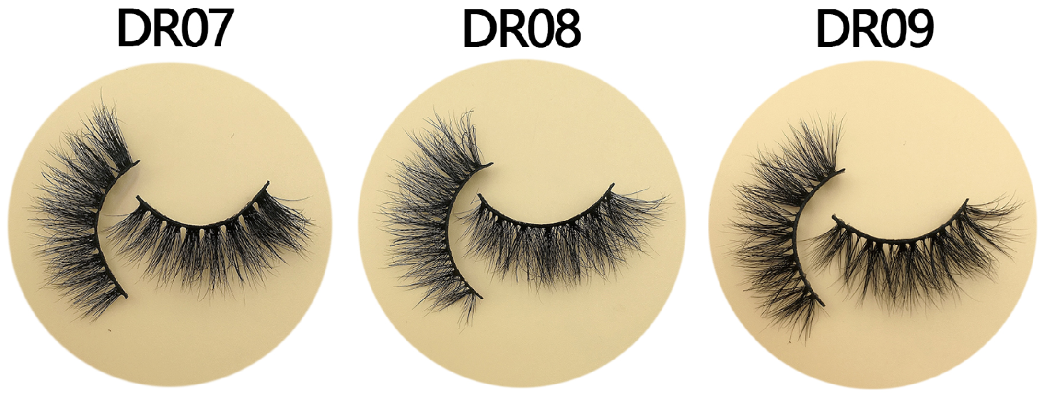 13 mm DR lashes